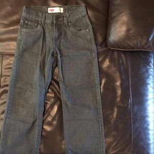 Boys Levi 550 Jeans size 8 reg
